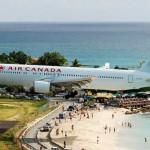 Аэропорт Принцессы Юлианы, остров Святого Мартина